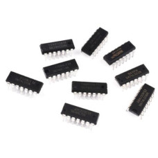 5PCS CD4073BE  package:dip14,(cd4073b - cd4082b) cmos and gate
